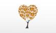 arbre coeurs