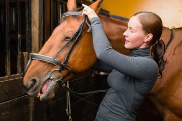 Bridle horse