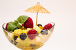 frischer bunter Obstsalat