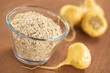 Oatmeal with maca or Peruvian ginseng (Lepidium meyenii)