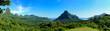 Leinwanddruck Bild - Tropical Moorea panorama