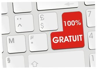 clavier 100% gratuit