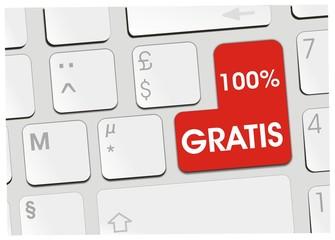 clavier 100% gratis