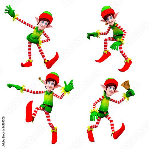 dancing elves