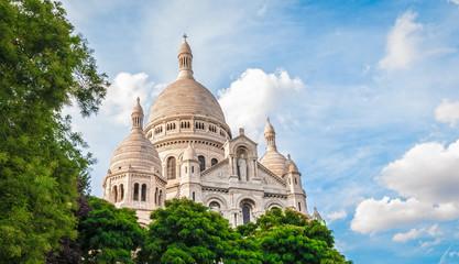 Basilica of the Sacred Heart of Paris.