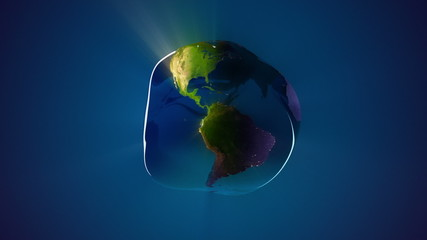 Loopable Earth Water Drop