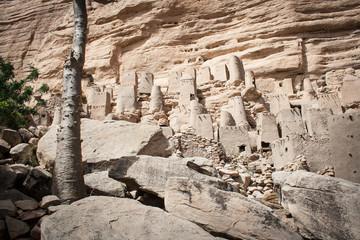 Ancient Dogon village, Mali, Africa.