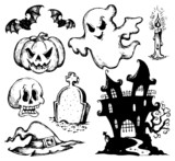 Halloween drawings collection 1