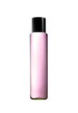 Pink parfume bottle isolated