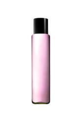 Pink parfume bottle isolated