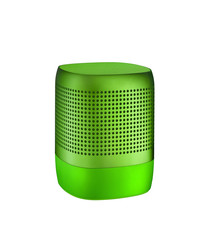 Table speaker isolated on white