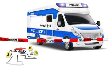 Tatortabsicherung - Ermittlung