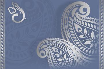 Ganesha card design, India