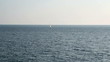 Sailing Yacht in Distance