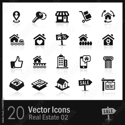 20 Real Estate Icons