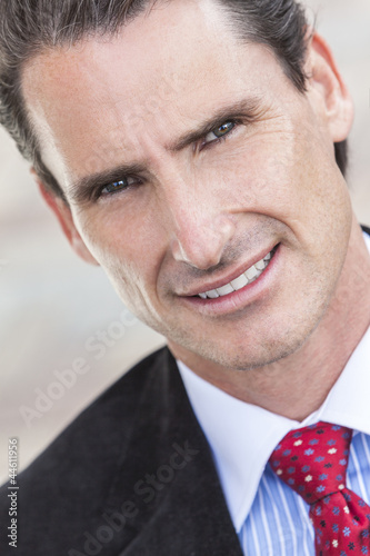 Portrait Middle Aged Man or Businessman