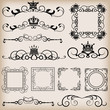 Vector set. Vintage Elements for your design.