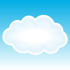 Beautiful cloud. Space-text background.