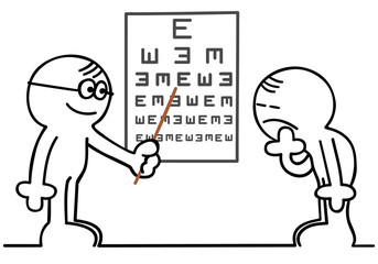 figur beim optiker