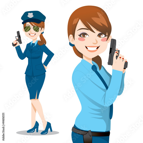 Pretty Police Woman