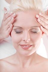 Leichte Massage