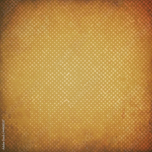 grunge retro background with dots