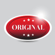 Original button red