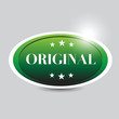 Original button green