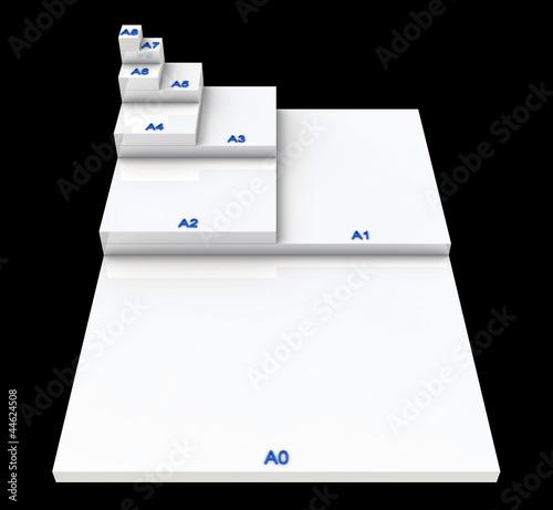 3D DIN Format Konzept A0 bis A8 - SW 02