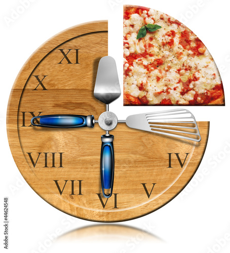 Pizza Time - Clock