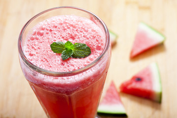 fresh waternelon Smoothie