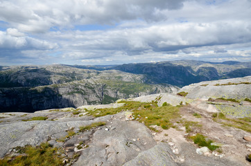 Randonnée au Kjerag en Norvège
