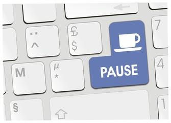 clavier pause