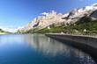 Dolomiti - Fedaia lake and Marmolada glacier