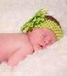 portrait d'un magnifique nouveau né