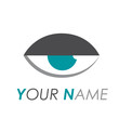 Logo abstract eye # Vector