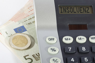 Insolvenz, Taschenrechner