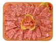 Salame tipico Ferrarese, italia