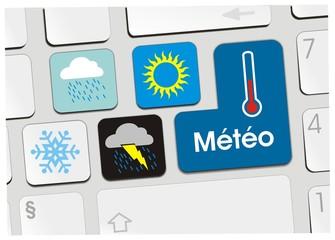 clavier météo