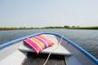 Boat on Dutch river
