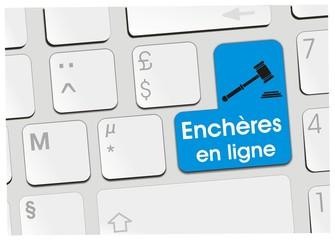 clavier enchères en ligne