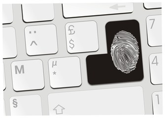 clavier empreinte digitale