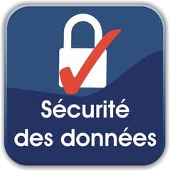 bouton sécurité des données