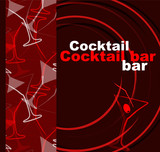 Template of a cocktail bar