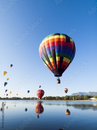 Deurstickers Ballon Balloon Show