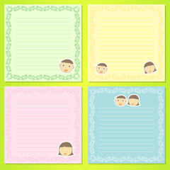 face kids notepad