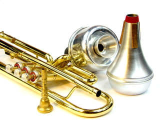 Trumpet and mute