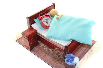 Ausschlafen im Bett