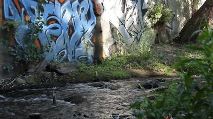 river graffiti