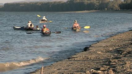 Kayaking on the Danube River (Adventure)